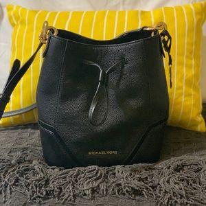 Michael Kors Leather Bucket Bag